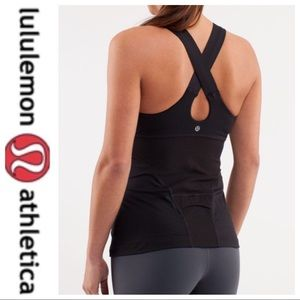 💕SALE💕 Lululemon Black Swift Tank